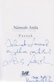 Németh Attila - Jaj annak, ki szeret (dedikált) [antikvár]
