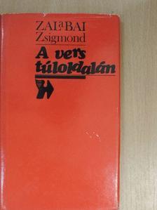 Zalabai Zsigmond - A vers túloldalán [antikvár]