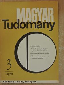 Ajtai Miklós - Magyar Tudomány 1970. március [antikvár]