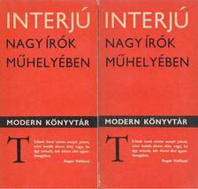 KÖVES ERZSÉBET - Interjú - Nagy írók műhelyében I-II. kötet [antikvár]