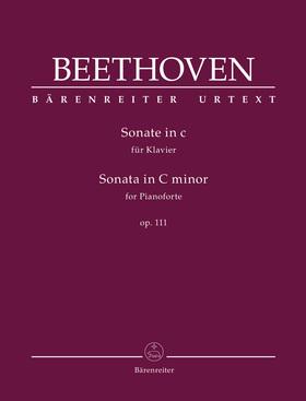 BEETHOVEN - SONATE IN c FÜR KLAVIER OP.111 (JONATHAN DEL MAR)