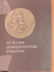 Balla Gyula - Az Állami Gorkij Könyvtár évkönyve 1986 [antikvár]