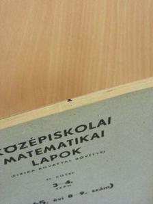 Dózsa Márton - Középiskolai matematikai lapok 1965/8-9. [antikvár]