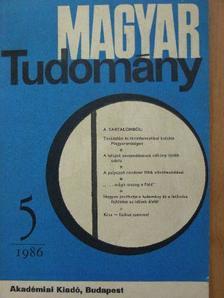 Ács Tibor - Magyar Tudomány 1986. május [antikvár]