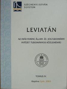 Dr. Rozgonyi Krisztina - Leviatán IV. [antikvár]