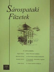 Börzsönyi József - Sárospataki Füzetek 2005/2. [antikvár]