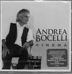 CINEMA CD ANDREA BOCELLI