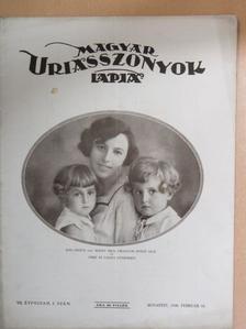 Ács Klára - Magyar Uriasszonyok Lapja 1930. február 10. [antikvár]