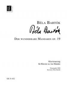 BARTÓK - DER WUNDERBARE MANDARIN OP.19 KLAVIERAUSZUG FÜR 2 KLAVIERE REV.: P.BARTÓK