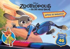 Disney - Zootropolis (Állati nagy balhét) - Játssz és ragassz