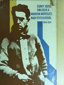 Bor Pál - Emlékek a modern művészet nagy évtizedéből [antikvár]