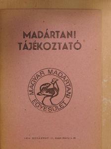 Balázs Tibor - Madártani tájékoztató 1984. július-augusztus-szeptember [antikvár]