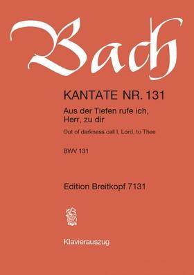 J. S. Bach - KANTATE NR. 131 - AUS DER TIEFEN RUFE ICH HERR, ZU DIR - BWV 131 - KLAVIERAUSZUG