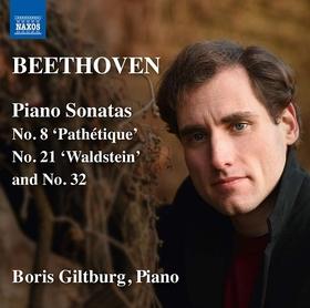 BEETHOVEN - PIANO SONATA 8, 21 & 32 CD GILTBURG