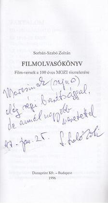 Sorbán-Szabó Zoltán - Filmolvasókönyv (dedikált) [antikvár]