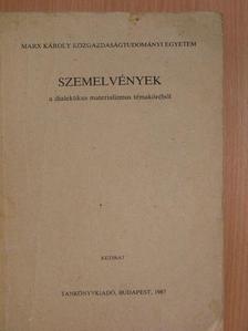 A. I. Ujemov - Szemelvények a dialektikus materializmus témaköréből [antikvár]