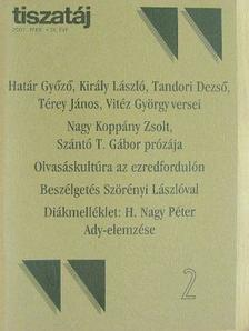 Csűrös Miklós - Tiszatáj 2002. február [antikvár]