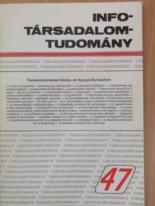 Ágh Attila - Info-Társadalomtudomány 1999. december [antikvár]