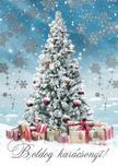 15149 - Képeslap borítékos aranyozott LC/6 karácsonyi K476