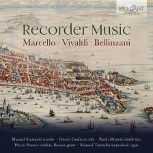 MARCELLO, VIVALDI, BELLINZANI - RECORDER MUSIC CD MANUEL STAROPOLI