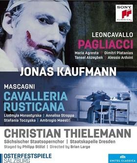 MASCAGNI - LEONCAVALLO - CAVALLERIA RUSTICANA DVD KAUFMANN