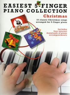 EASIEST 5-FINGER PIANO COLLECTION CHRISMAS