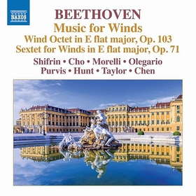 BEETHOVEN - MUSIC FOR WINDS CD SHIFRIN