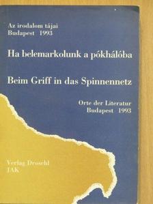 Anselm Glück - Ha belemarkolunk a pókhálóba [antikvár]