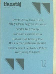 Bertók László - Tiszatáj 2001. december [antikvár]