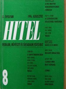 Alföldy Jenő - Hitel 1996. augusztus [antikvár]