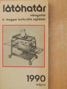 Balassa Péter - Látóhatár 1990. május [antikvár]