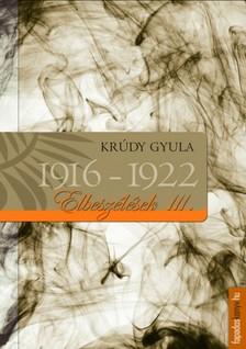 KRÚDY GYULA - Krúdy elbeszélések_III_1916-1922 [eKönyv: epub, mobi]