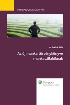 Lilla Bodnár - Az új munka törvénykönyve - munkavállalóknak [eKönyv: epub, mobi]