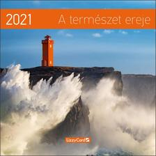 17249 - A természet ereje Falinaptár lemez közepes - 2021