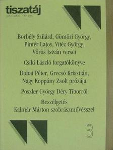 Borbély Szilárd - Tiszatáj 2003. március [antikvár]
