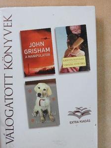 John Grisham - A manipulátor/Varázslatos óra/Marley és mi [antikvár]