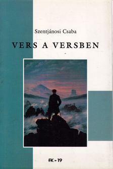 Szentjánosi Csaba - Vers a versben [antikvár]