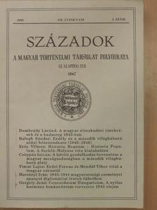 Balogh Sándor - Századok 1995/3. [antikvár]