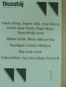 Acsai Roland - Tiszatáj 2003. január [antikvár]