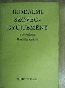 Alekszandr Szergejevics Puskin - Irodalmi szöveggyűjtemény [antikvár]