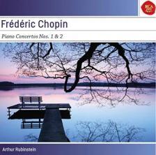 Chopin - PIANO CONCERTOS NOS.1 & 2 CD - RUBINSTEIN -