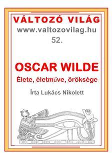 Lukács Nikolett - Oscar Wilde