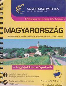Cartographia - Magyarország zsebatlasz  [antikvár]