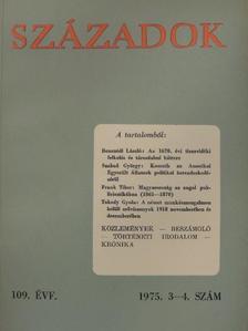 Balogh István - Századok 1975/3-4. [antikvár]