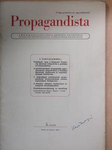 Csányi Lászlóné - Propagandista 1952. július [antikvár]