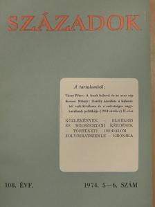 Dersi Tamás - Századok 1974/5-6. [antikvár]