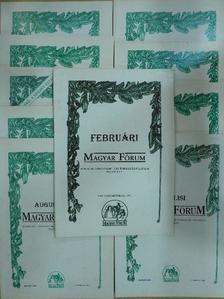 B. Napóleon - Magyar Fórum 1993. (nem teljes évfolyam) [antikvár]