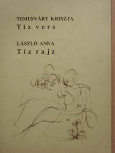 Temesváry Kriszta - Tíz vers/Tíz rajz (dedikált példány) [antikvár]