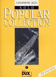POPULAR COLLECTION 5 FOR SAXOPHONE ALTO SOLO