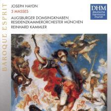 Haydn - 3 MASSES CD REINHARD KAMMLER